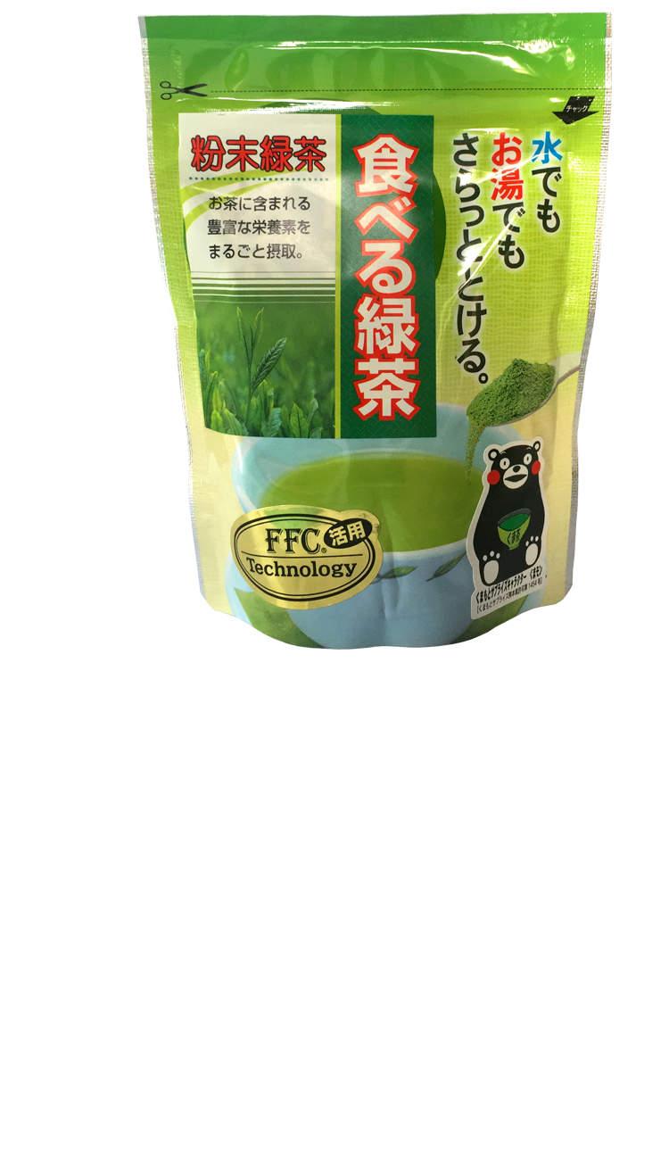 Das Grüntee Pulver von Teebauer Watanabe