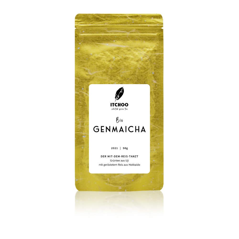Genmaicha Bio Grüntee mit geröstetem Reis von ITCHOO