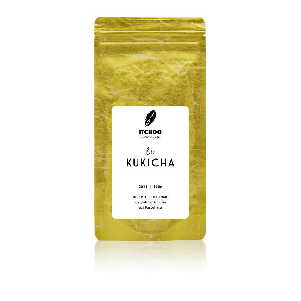 Kukicha koffein-armer Stengelchen Bio Grüntee von ITCHOO