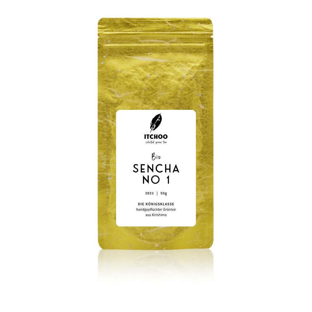 Bio Sencha No 1 Grüntee von ITCHOO