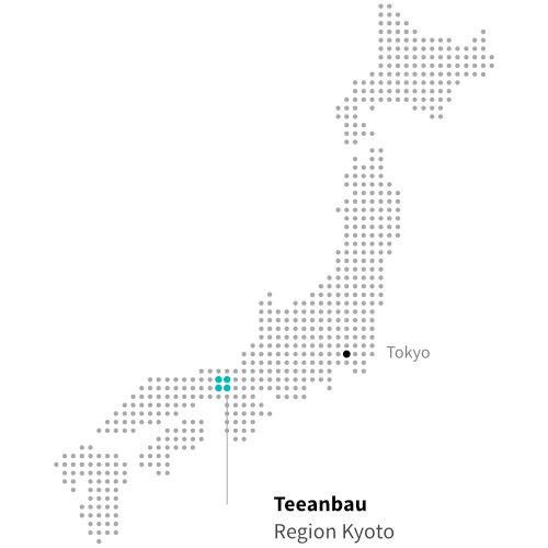 Japanischer Teeanbau in Kyoto ITCHOO Grüntee