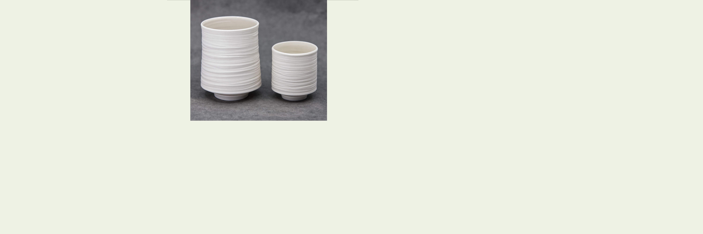 Teebecher Porzellan weiss - Limitierte Edition von ITCHOO